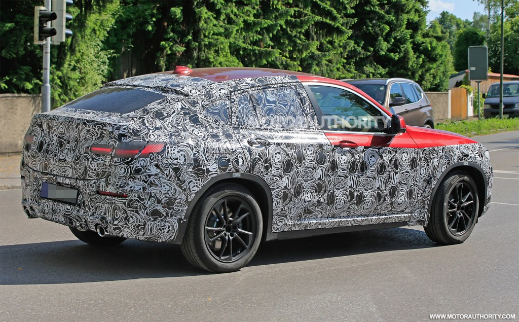 2020 BMW X4 Redesign, M40i, M Package >> 2019 Bmw X4 Spy Shots And Video