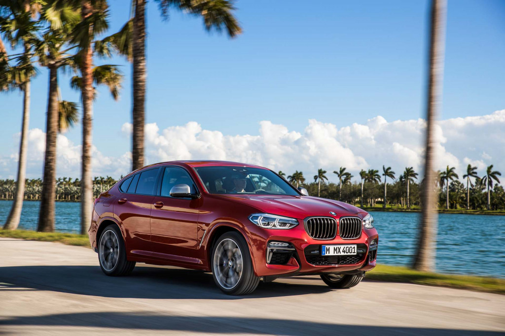 Bumper crop: 2019 BMW X4 luxury crossover revealed