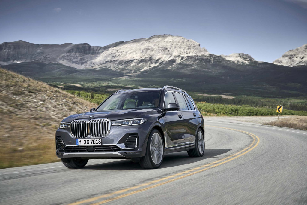 2019 BMW X7 preview