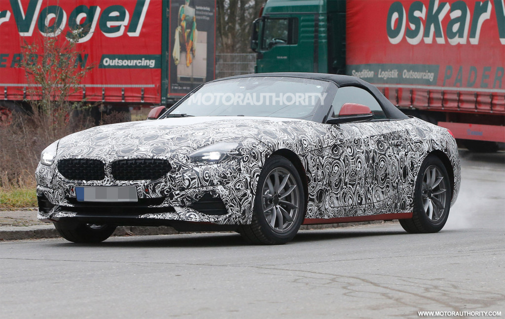 BMW Z Spy Shots And Video News About Cool Cars - Cool car shots