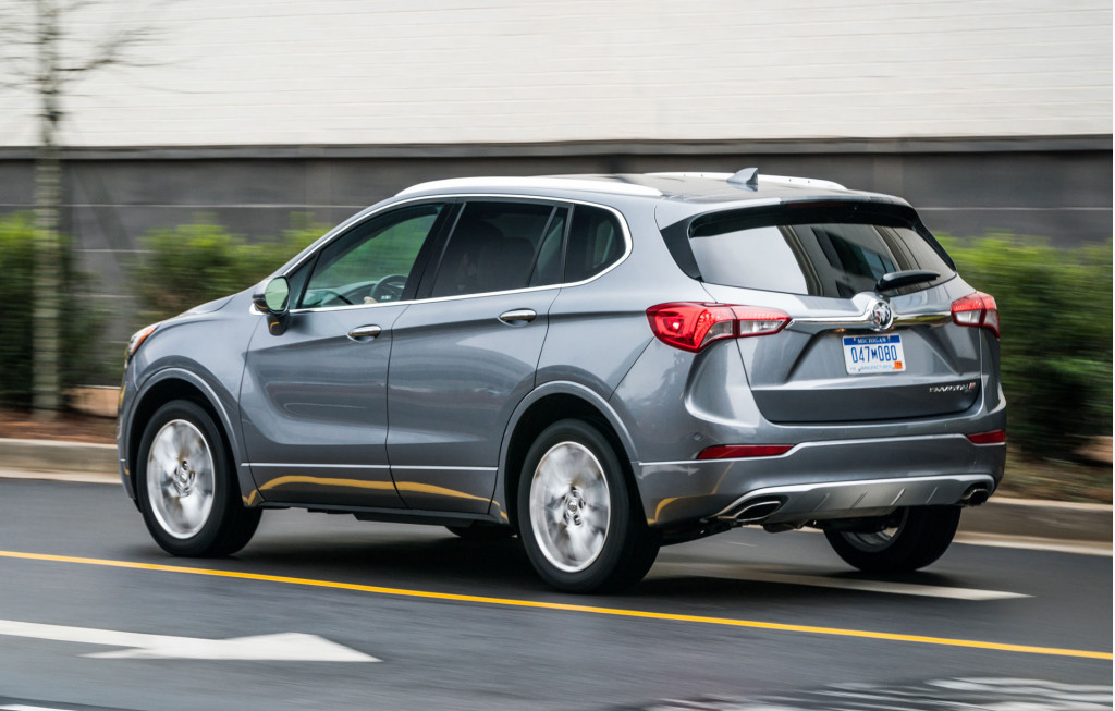 U.S. denies tariff exemption for China-made Buick Envision crossover SUV