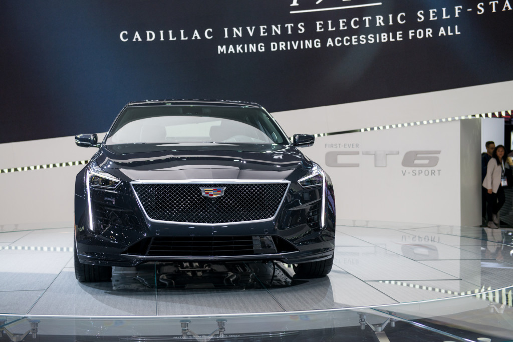 2019 Cadillac CT6, 2018 New York auto show