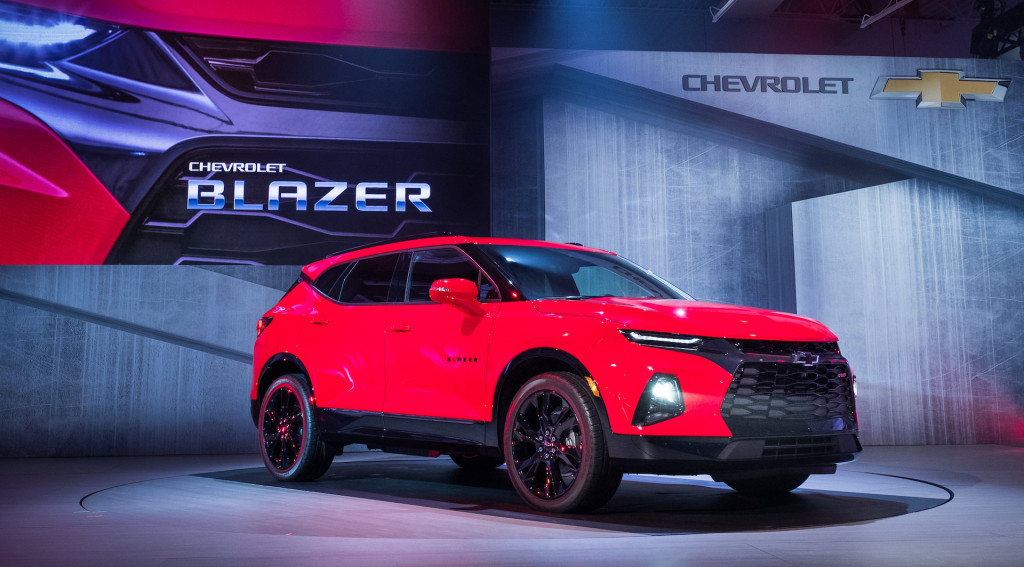 2019 Chevrolet Blazer: SUV badge returns on mid-size crossover