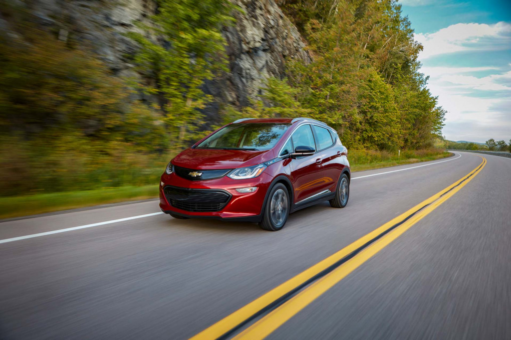 GM electric car federal tax credit cut in half Monday, Chevy Bolt EV price won't change