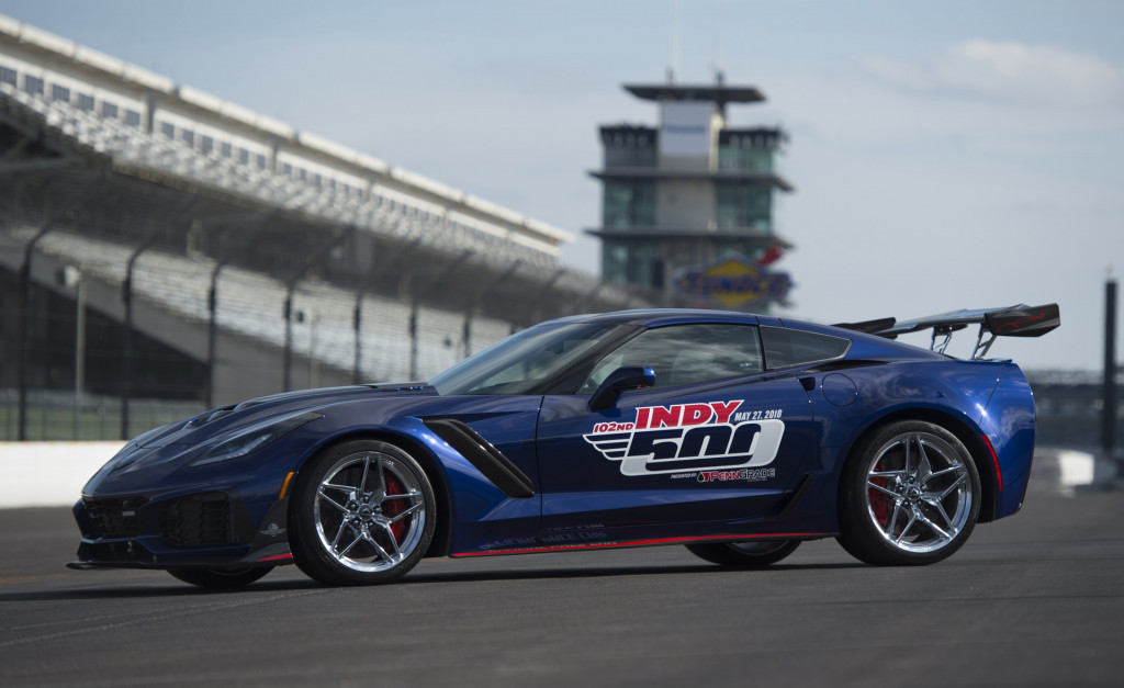 2019 Corvette ZR1 is most powerful pace car in Indy 500 history