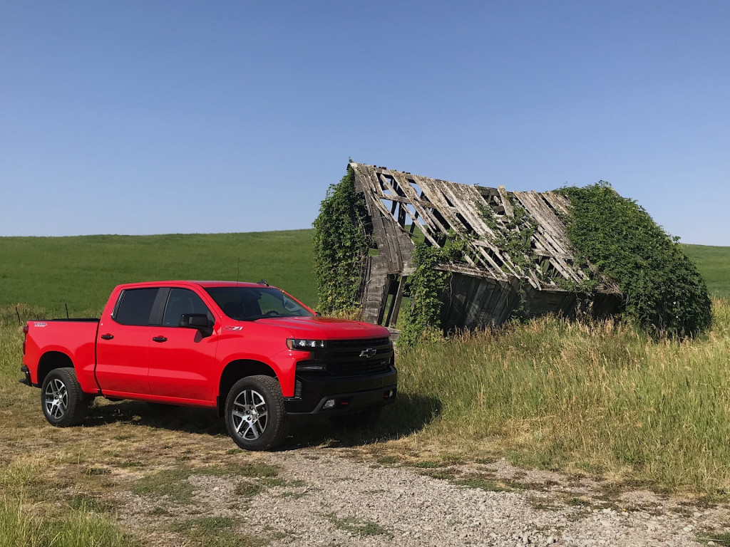 2019 Chevrolet Silverado 1500 first drive, Wyoming, August 2018