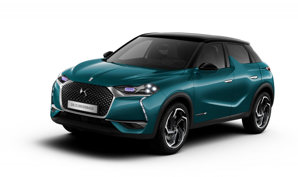 2019 DS 3 Crossback: French luxury crossover debuts with EV option