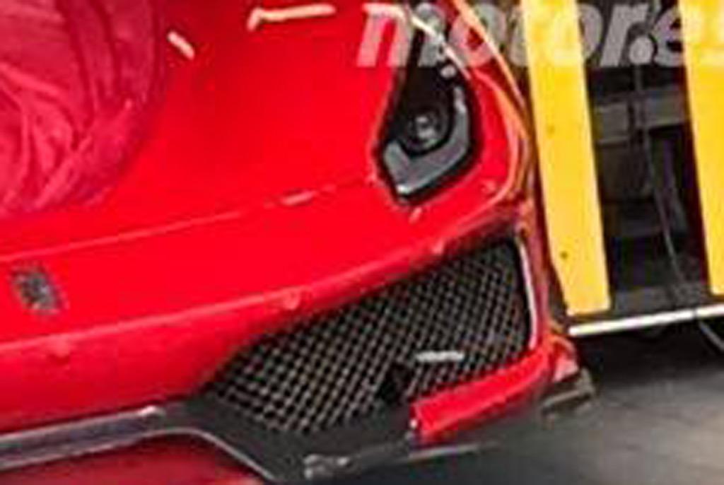 2019 Ferrari 488 GTO leaked - Image via Motor.es