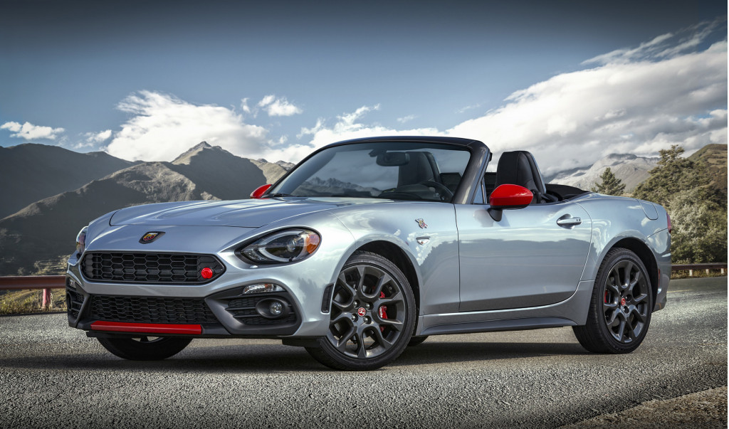 2019 Fiat 124 Spider benefits from new options including Monza exhaust for Abarth
