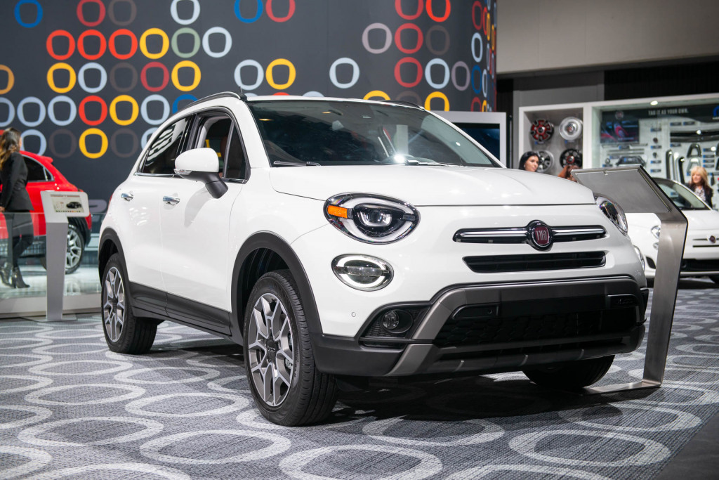 2019 Fiat 500X crossover sports new engine, new nose