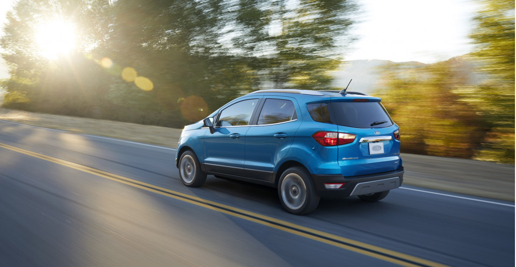 Ford Ecosport discontinued, leaving nothing but an echo in small crossover history