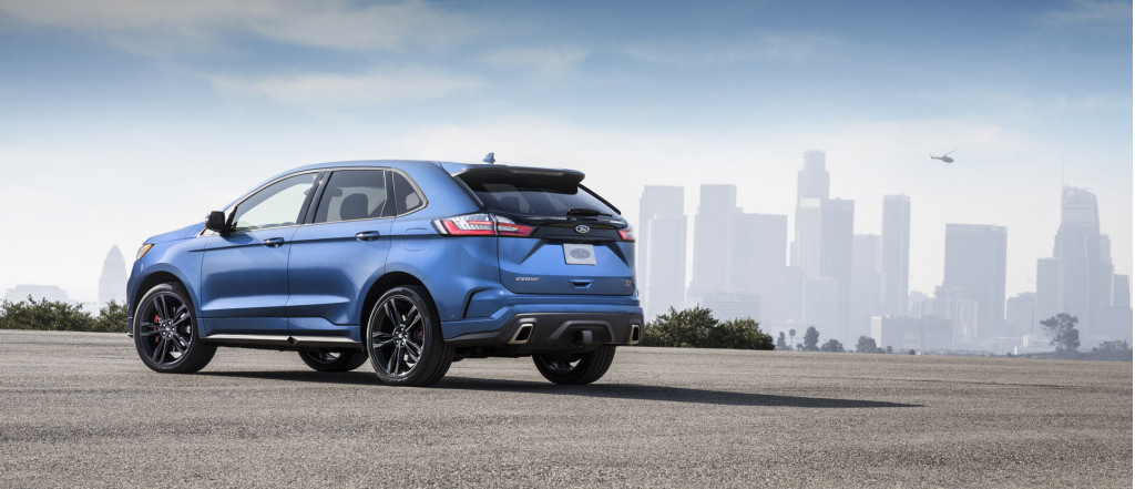 Drive off in a 2019 Ford Edge ST for $43,350