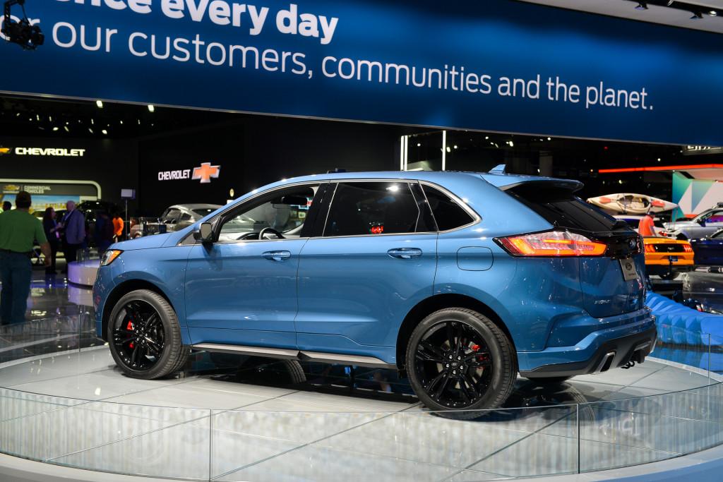 Ford Edge St  Detroit Auto Show