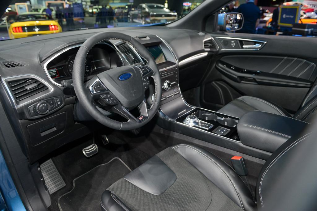 Image 2019 Ford Edge St 2018 Detroit Auto Show Size