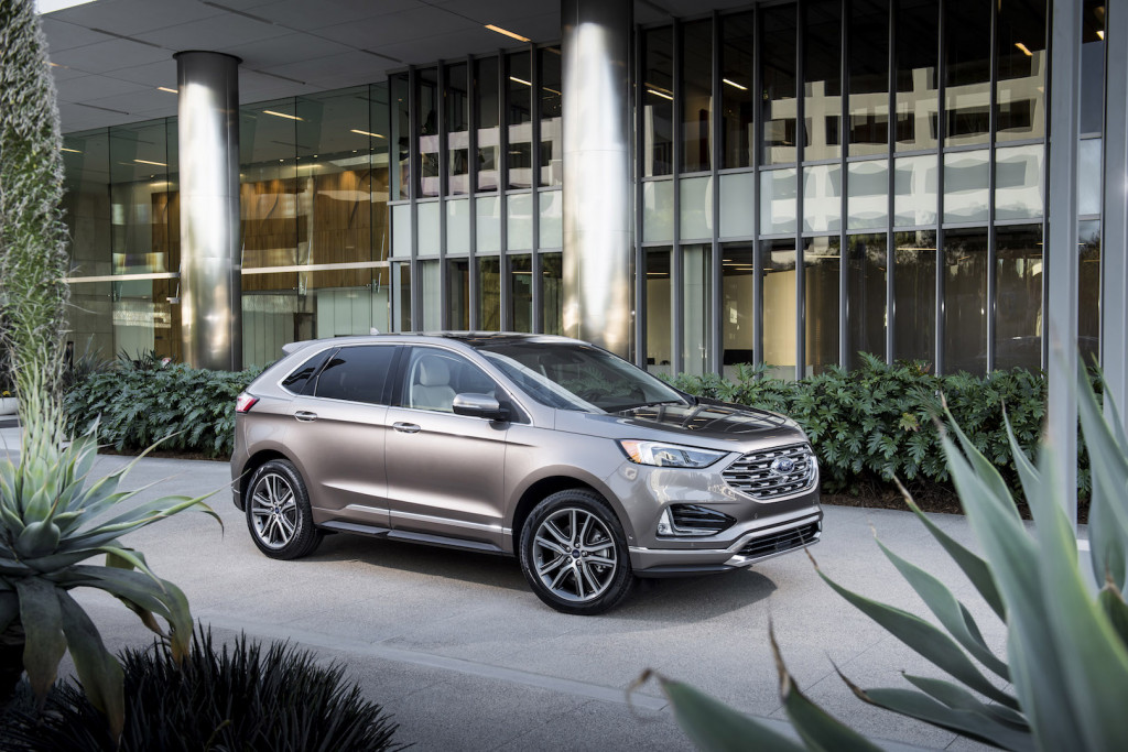 Ford Edge St Jeep Wrangler Recall Electric Car Sales Whats New The Car Connection