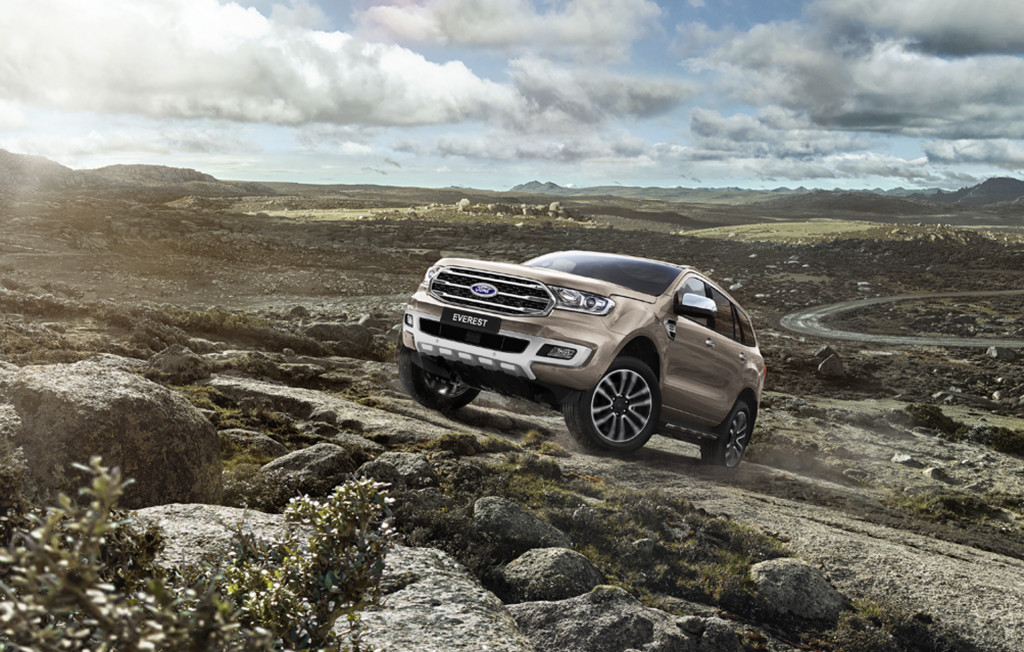 Meet the 2019 Ford Everest: the other Ranger-based SUV