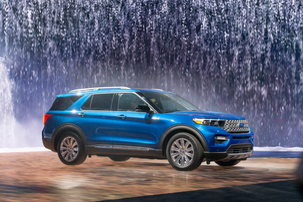 Redesigned 2020 Ford Explorer To Cost 33 860 To Start