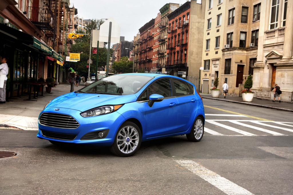 Automatic Car Ford Fiesta