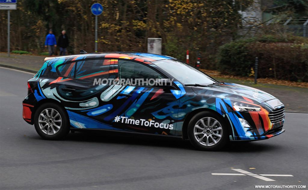 2019 Ford Focus spy shots