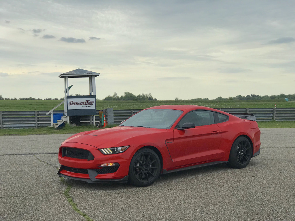 2019 Ford Mustang Shelby GT350 Gingerman Raceway track day