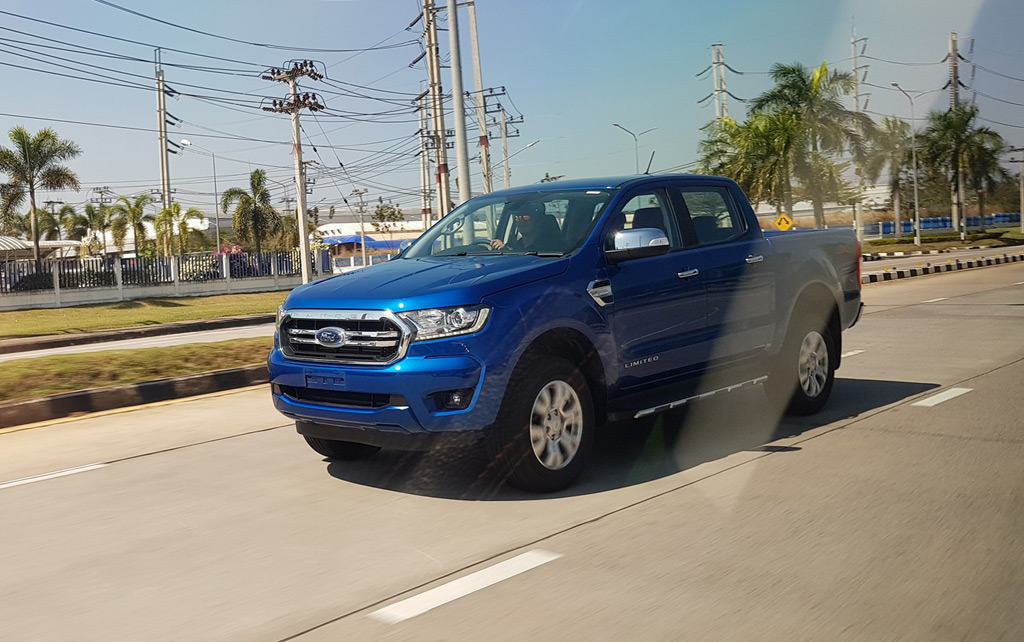 2019 Ford Ranger leaked