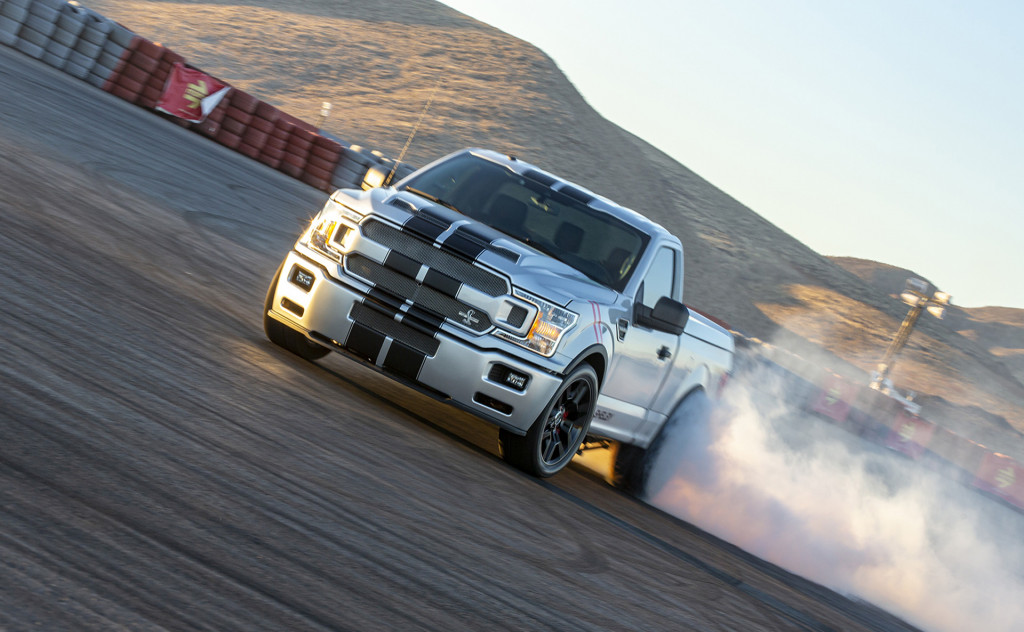 With 770 Hp And 93 385 Price The Ford Shelby F 150 Super Snake Sport Is All About Big Numbers