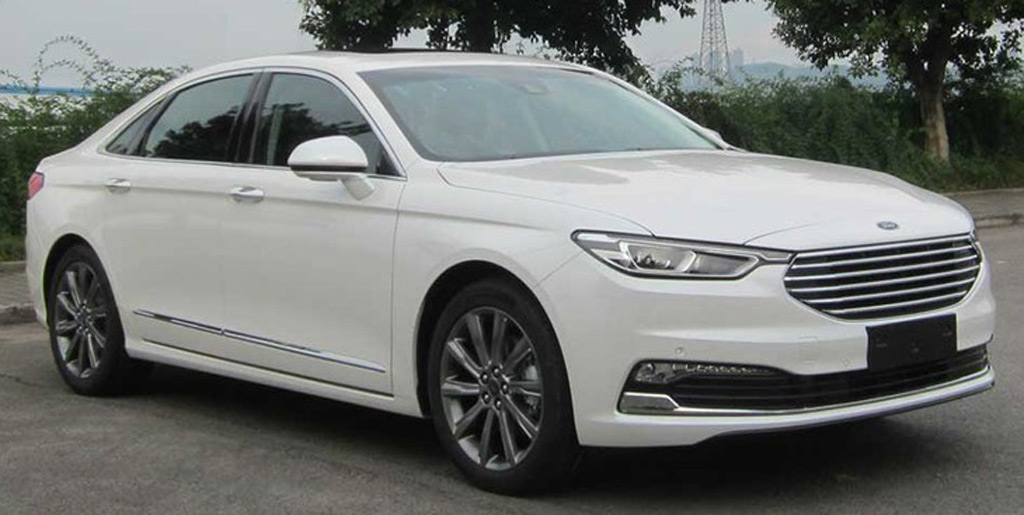 Ford updates its Taurus sold only in China