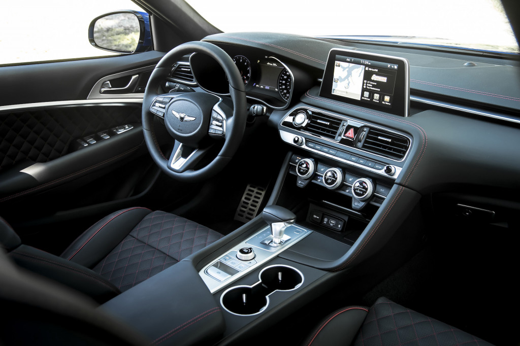 2019 Genesis G70 First Drive Review Getting The Details Right