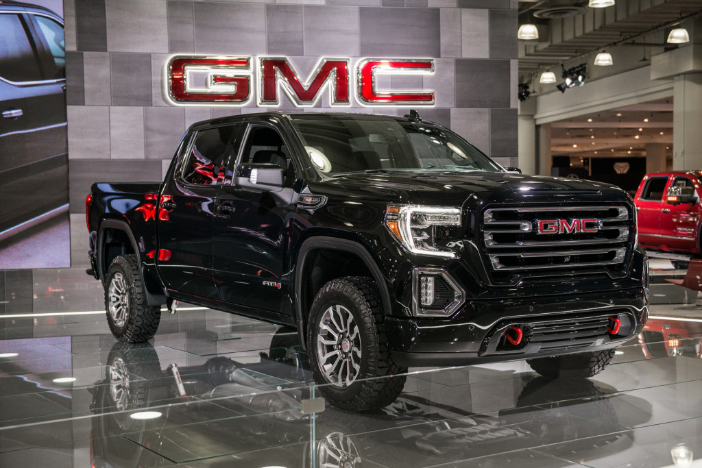Image: 2019 GMC Sierra 1500 AT4, 2018 New York auto show, size: 1024 x 683, type: gif, posted on ...
