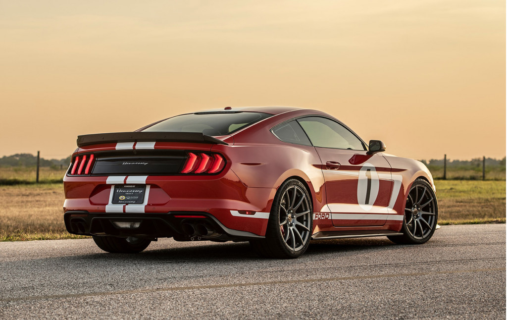 Hennessey's 808-horsepower Heritage Mustang hits the dyno