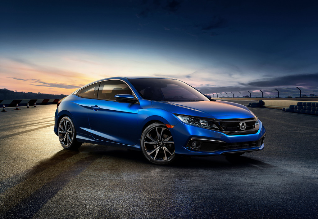 2019 Honda Civic gets new look, standard active safety features, Sport trim