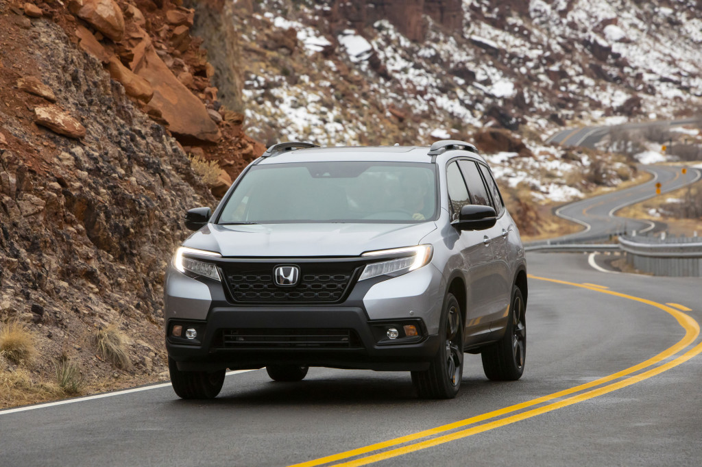 2019 Honda Passport earns five-star crash-test ratings from the NHTSA