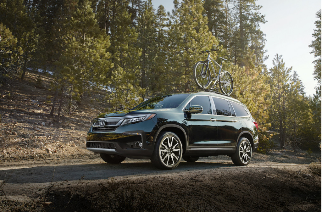 2019 Honda Pilot More Safety Features For 32 445
