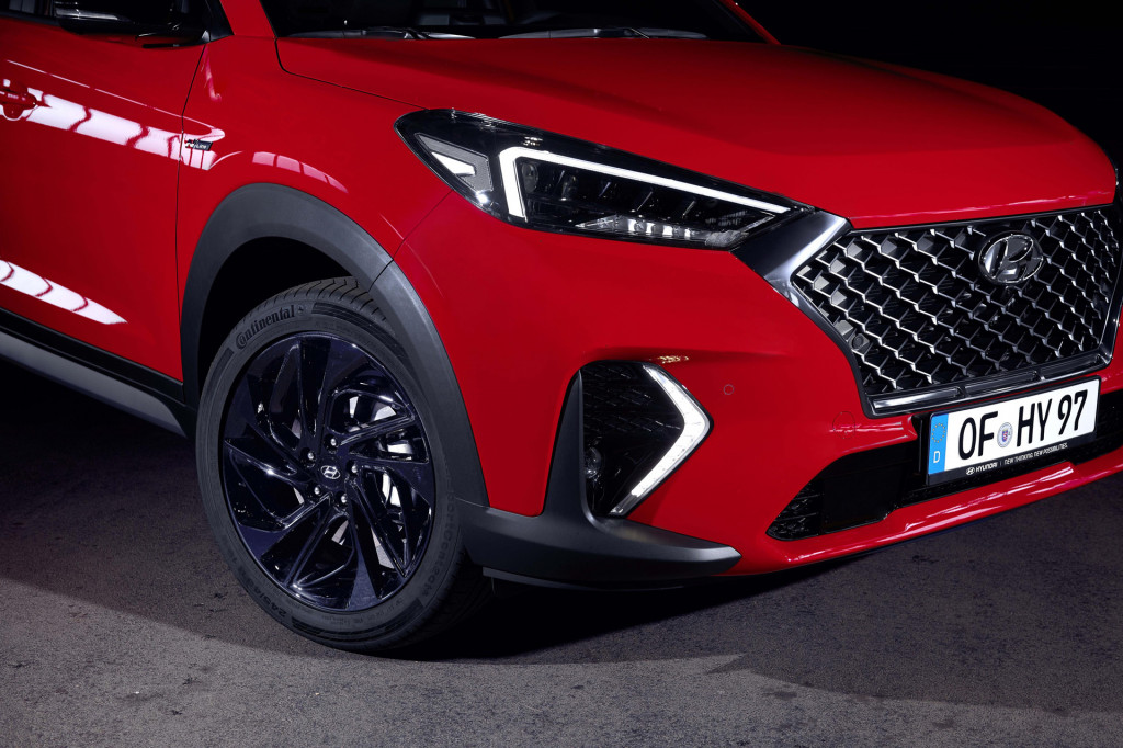 Hyundai Tucson N Line Revealed With Racy Accents