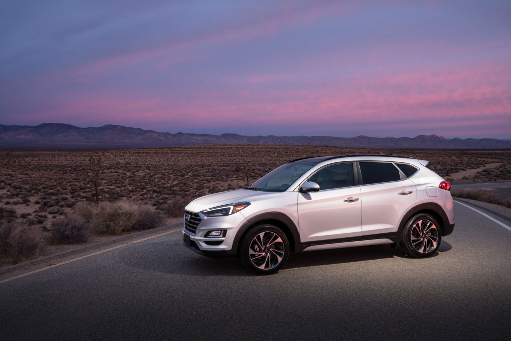 2019 Hyundai Tucson Night Edition adds upscale BBS wheels
