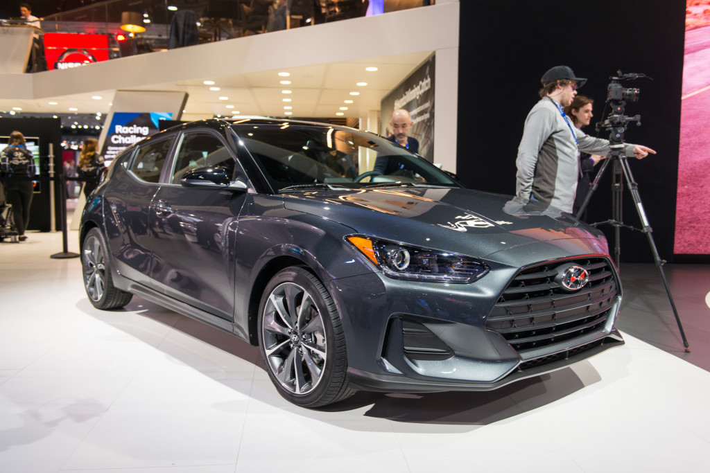 2019 Hyundai Veloster price announced: Three doors for $19,385