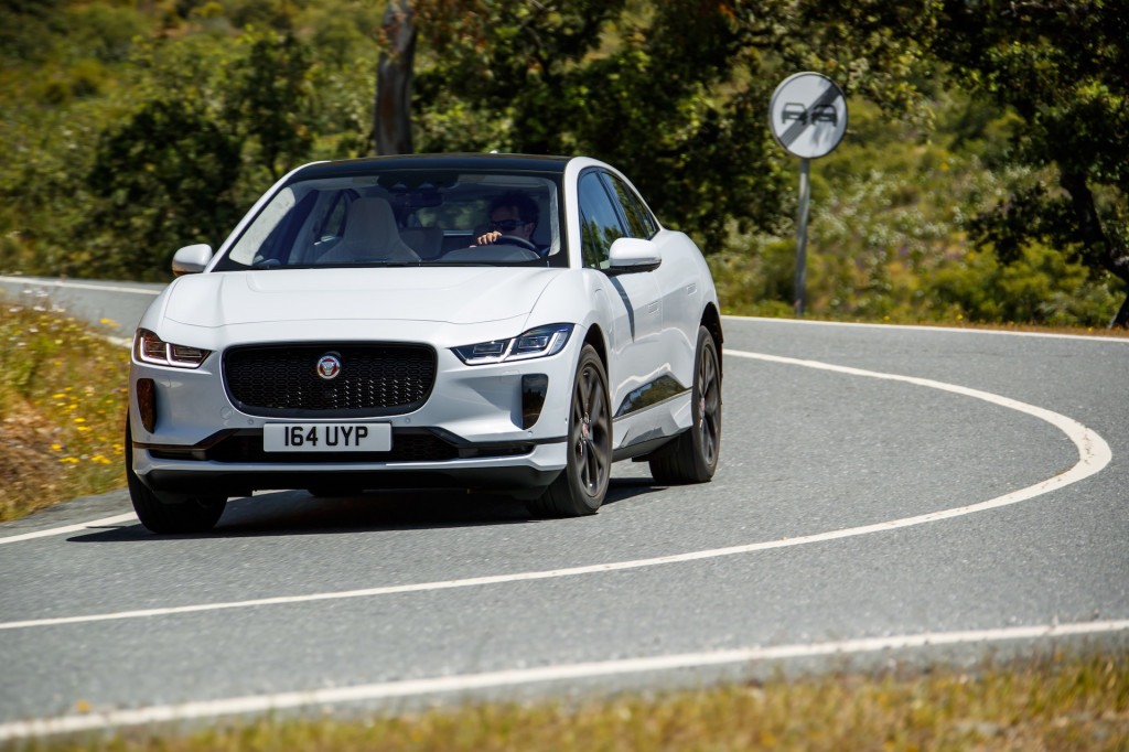 Jaguar I-Pace gets more range thanks to lessons learned in racing electric SUV
