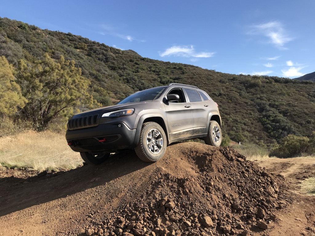 2019 Jeep Cherokee, Westlake Village, January 2018