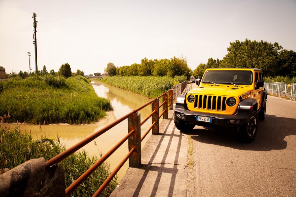 2019 Jeep Wrangler Rubicon at the Rubicone and Pisciatello rivers (Crossing the Rubicone)