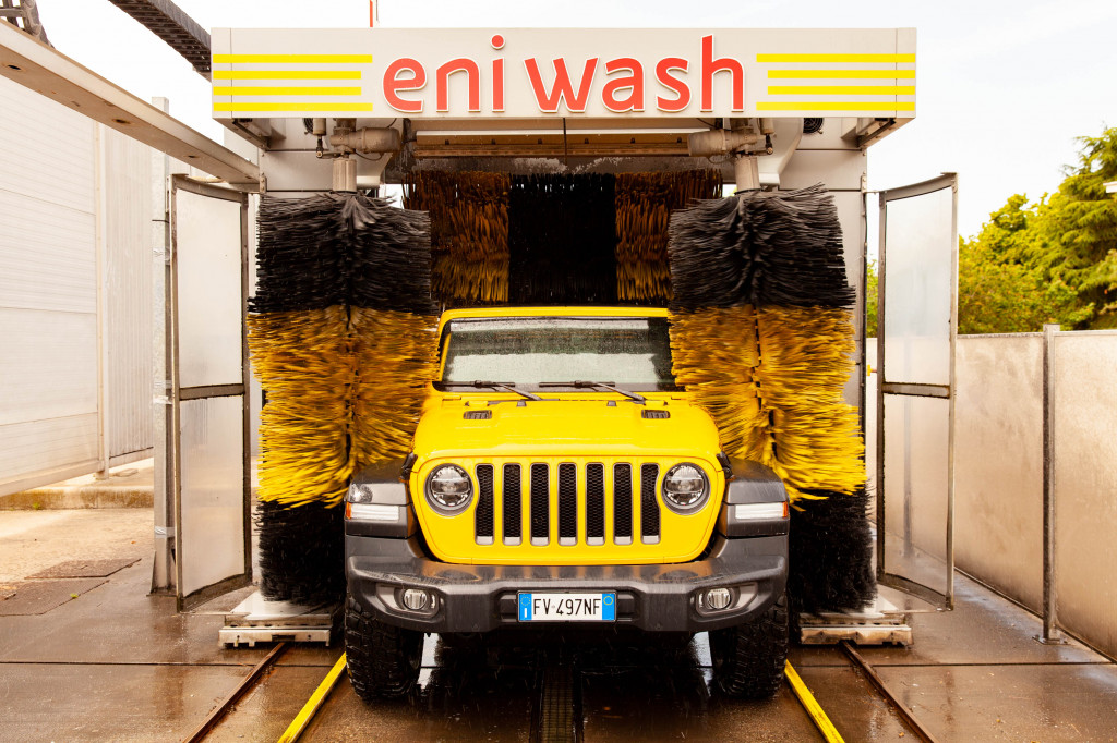 Car wash in Italy (Crossing the Rubicone)