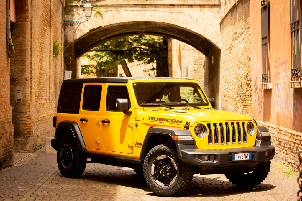2019 Jeep Wrangler Rubicon in Ravenna, Italy (Crossing the Rubicone)