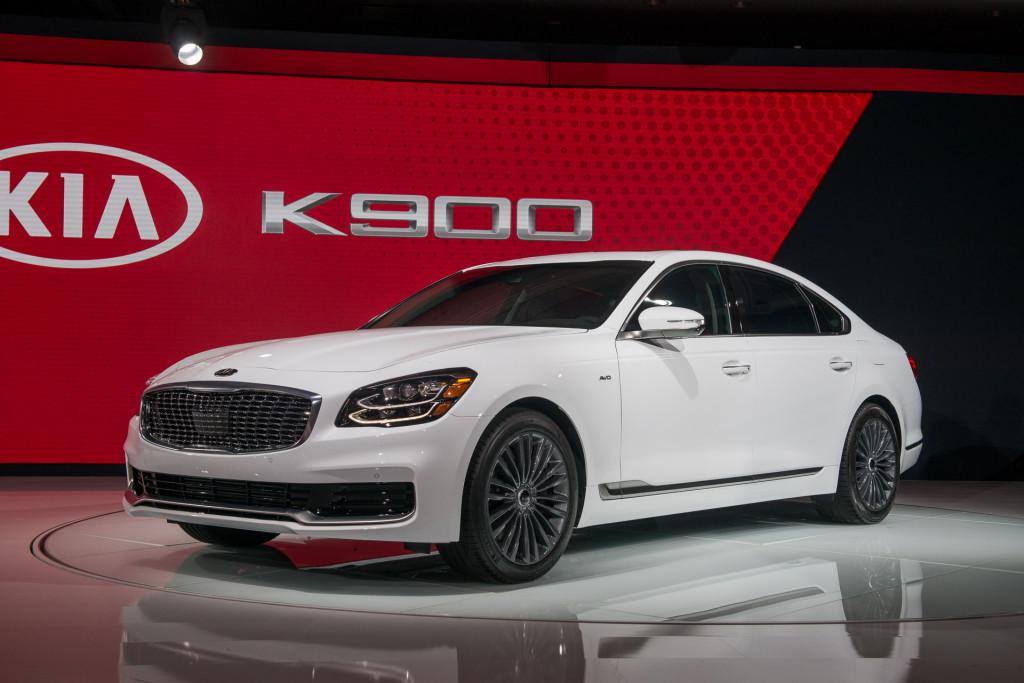 2019 Kia K900, 2018 New York auto show