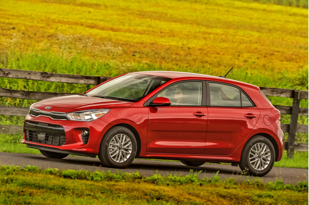 2019 Kia Rio nabs Top Safety Pick award