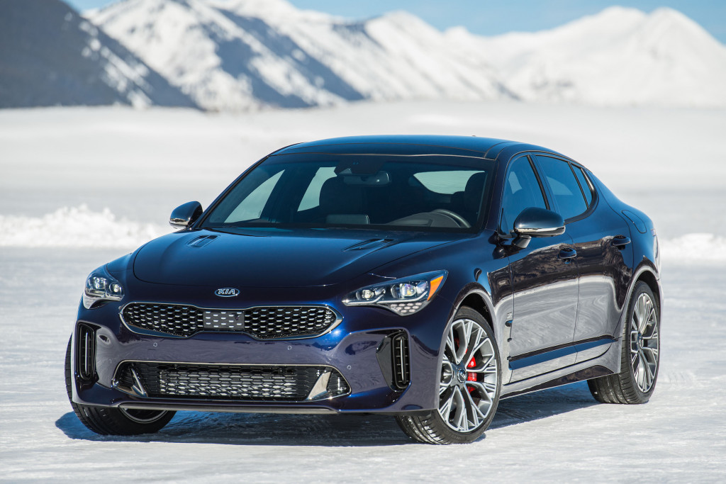 Kia Stinger GT Atlantica Is All Dressed Up And Blue News - Cool kia cars