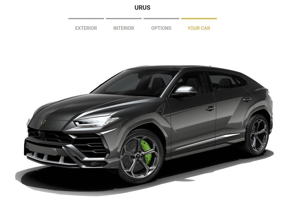 Prep Your Dream Ssuv With The Lamborghini Urus Configurator