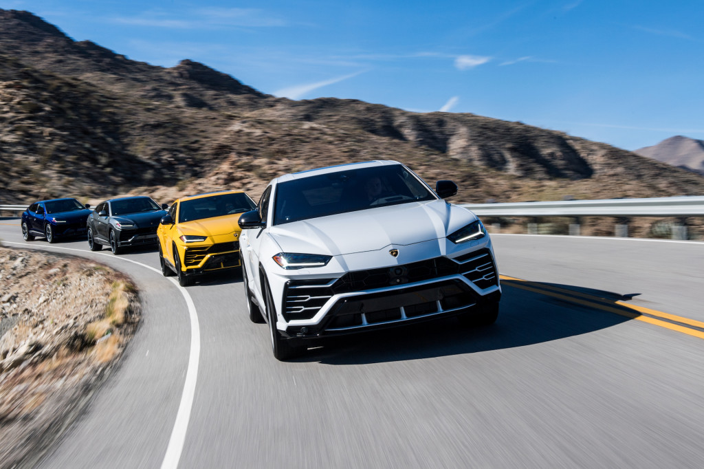 The Urus SUV helped Lamborghini shatter its all-time sales record in 2019