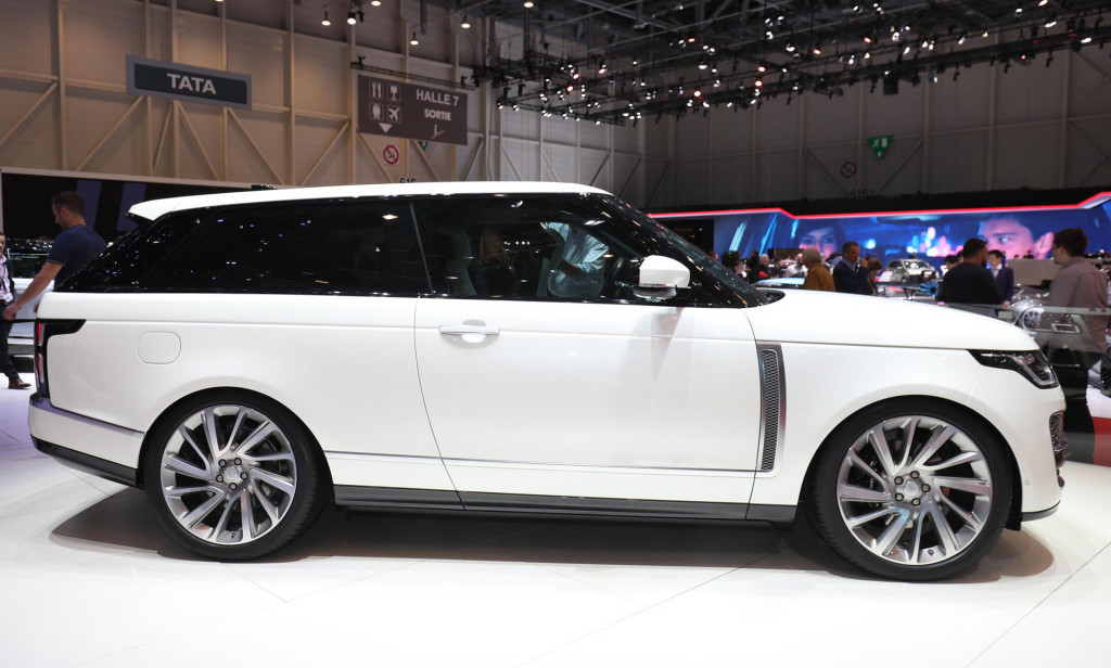 Land Rover Range SV Coupe Revealed Priced From 295000