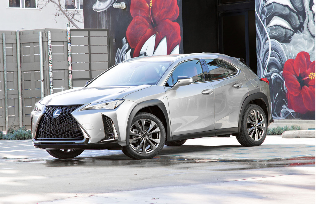 2019 lexus ux small suv emerges in us trim, hybrid included, at ny