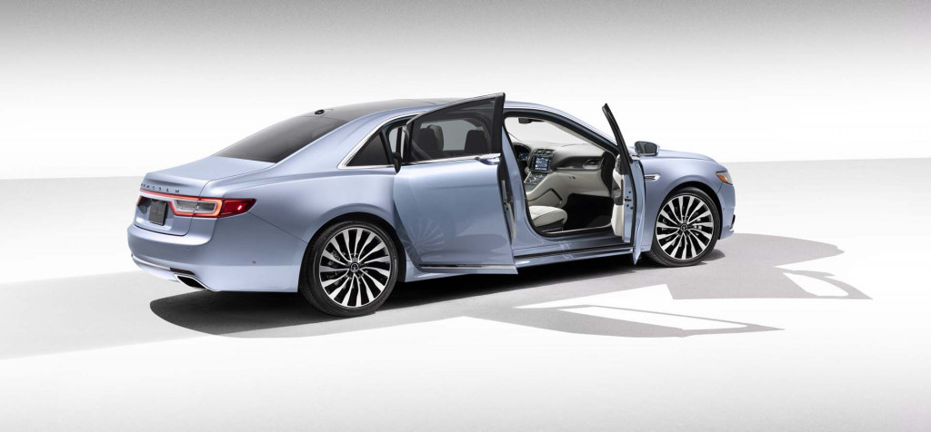 2019 Lincoln Continental Coach Edition ushers in the return of suicide doors