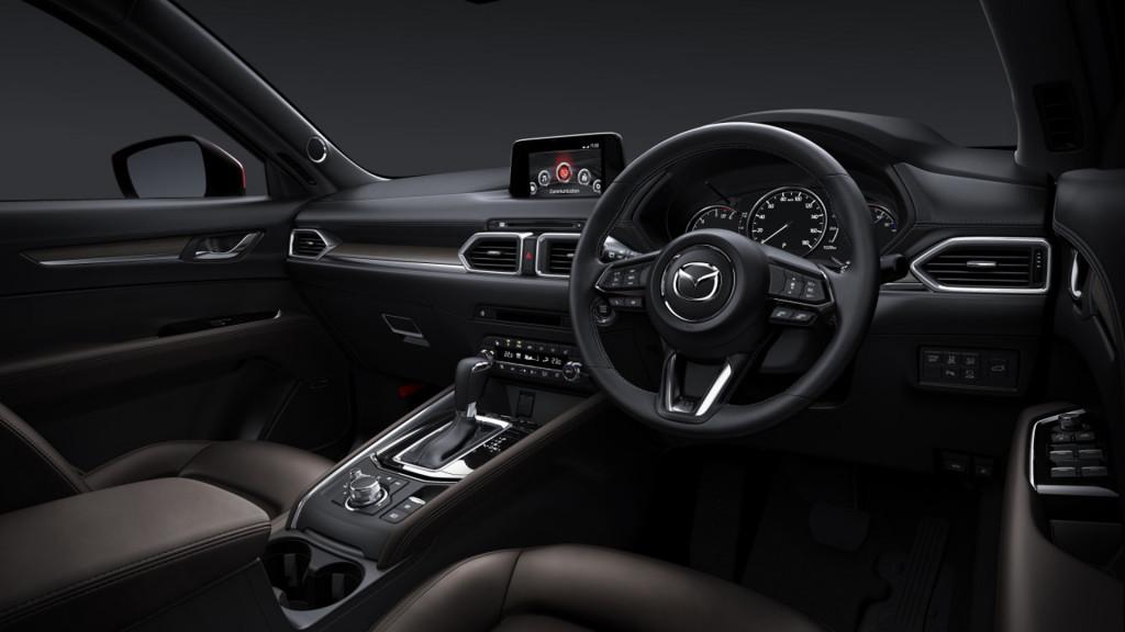 Mazda CX-5 gets punchy 2.5-liter turbo, GVC Plus handling